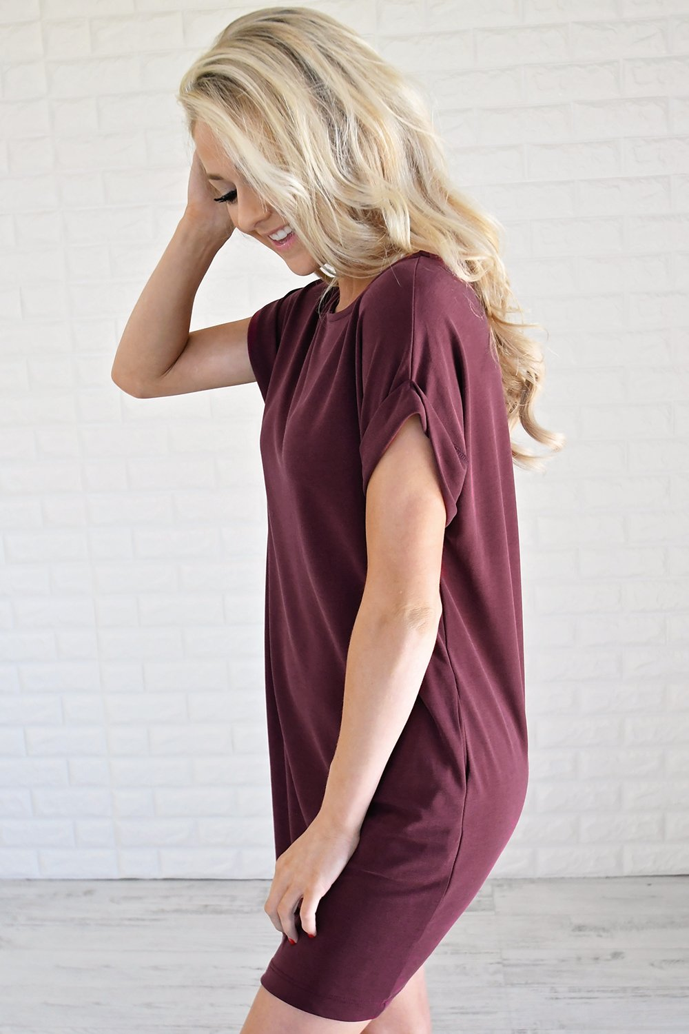 a3f976a88499 Effortlessly Classy T-Shirt Dress – The Pulse Boutique