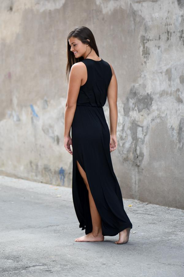 Everly Black Maxi Dress