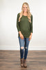 Essential Dolman Top ~ Olive