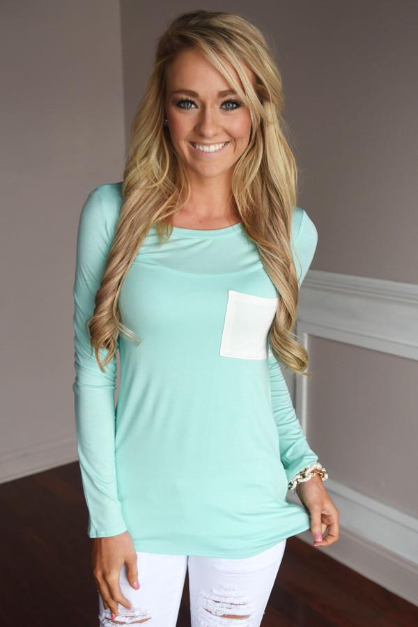 Casual Chic ~ Mint