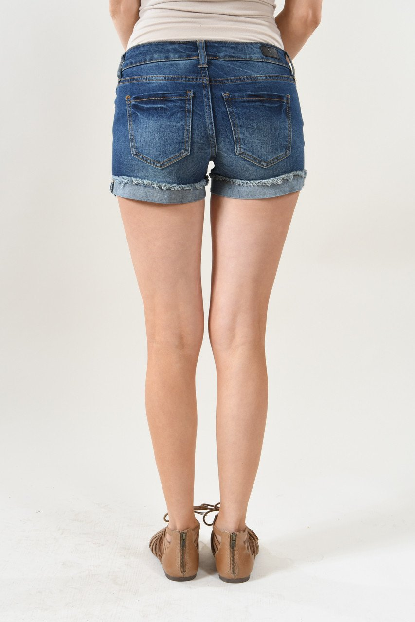 Calypso Shorts ~ Favorite Distressed Denim