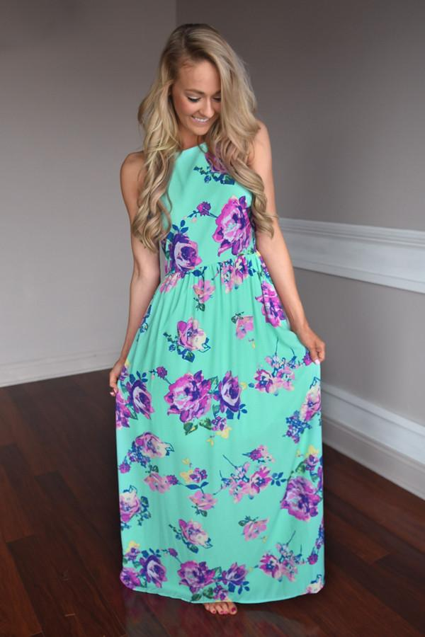 Everly Maxi ~ Feeling Magical in Mint