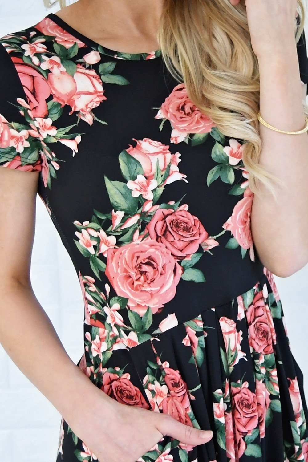 Jolene Floral Maxi Dress