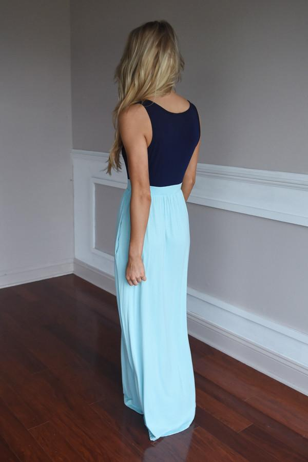 Whisper in the Wind Maxi ~ Blue