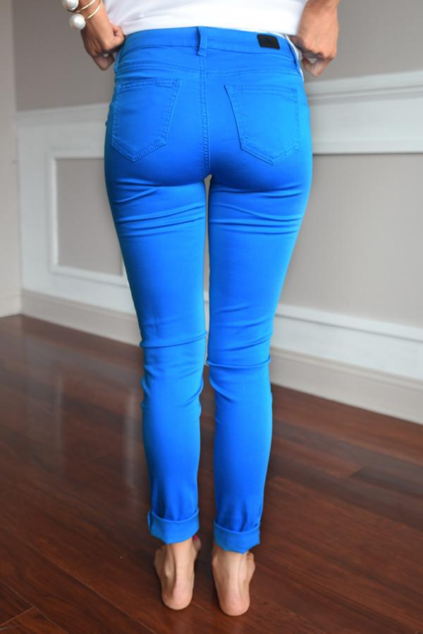 Calypso Pants ~ Royal Blue