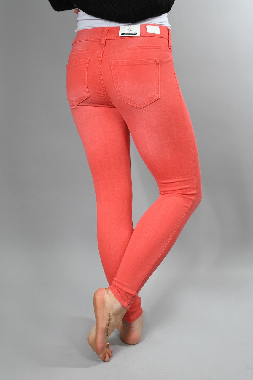 Dusty Coral Calypso Pants