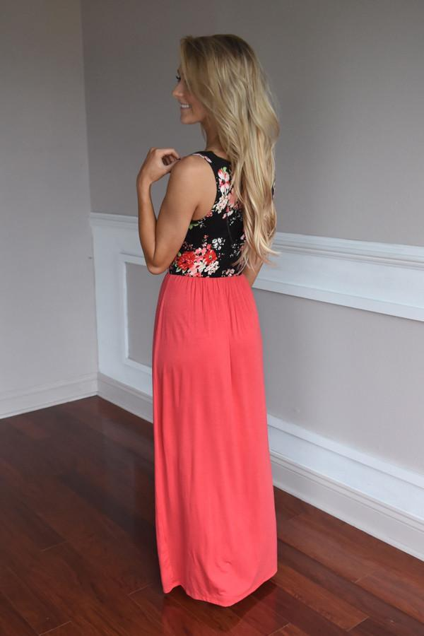 On Your Way Maxi ~ Coral