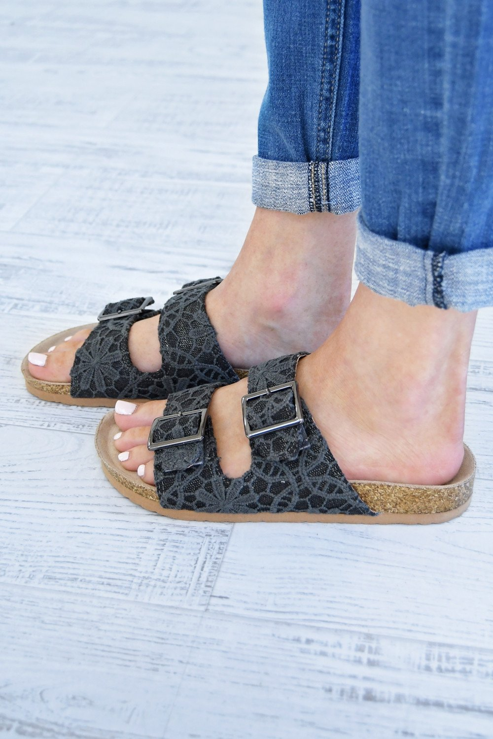 Not Rated Kisha Sandals ~ Black
