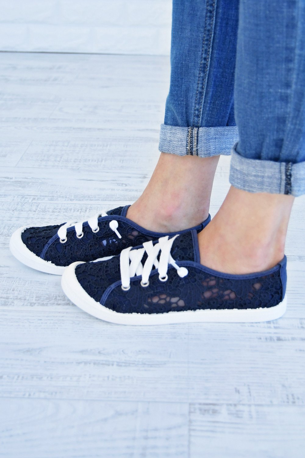 "Not Rated ""Charon"" Sneaker ~ Navy"