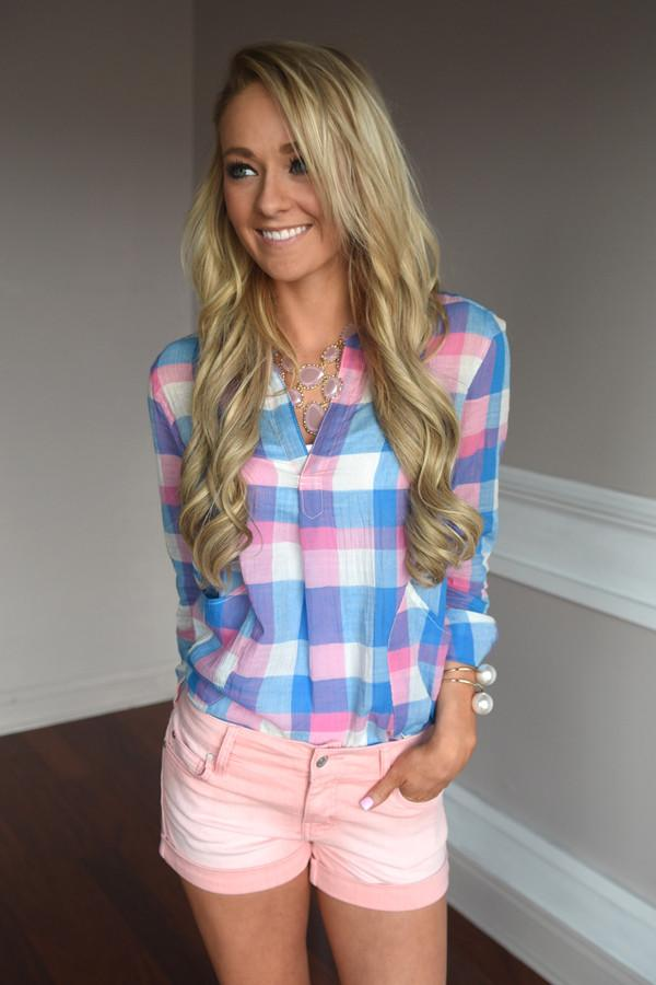 Cotton Candy Tunic Top
