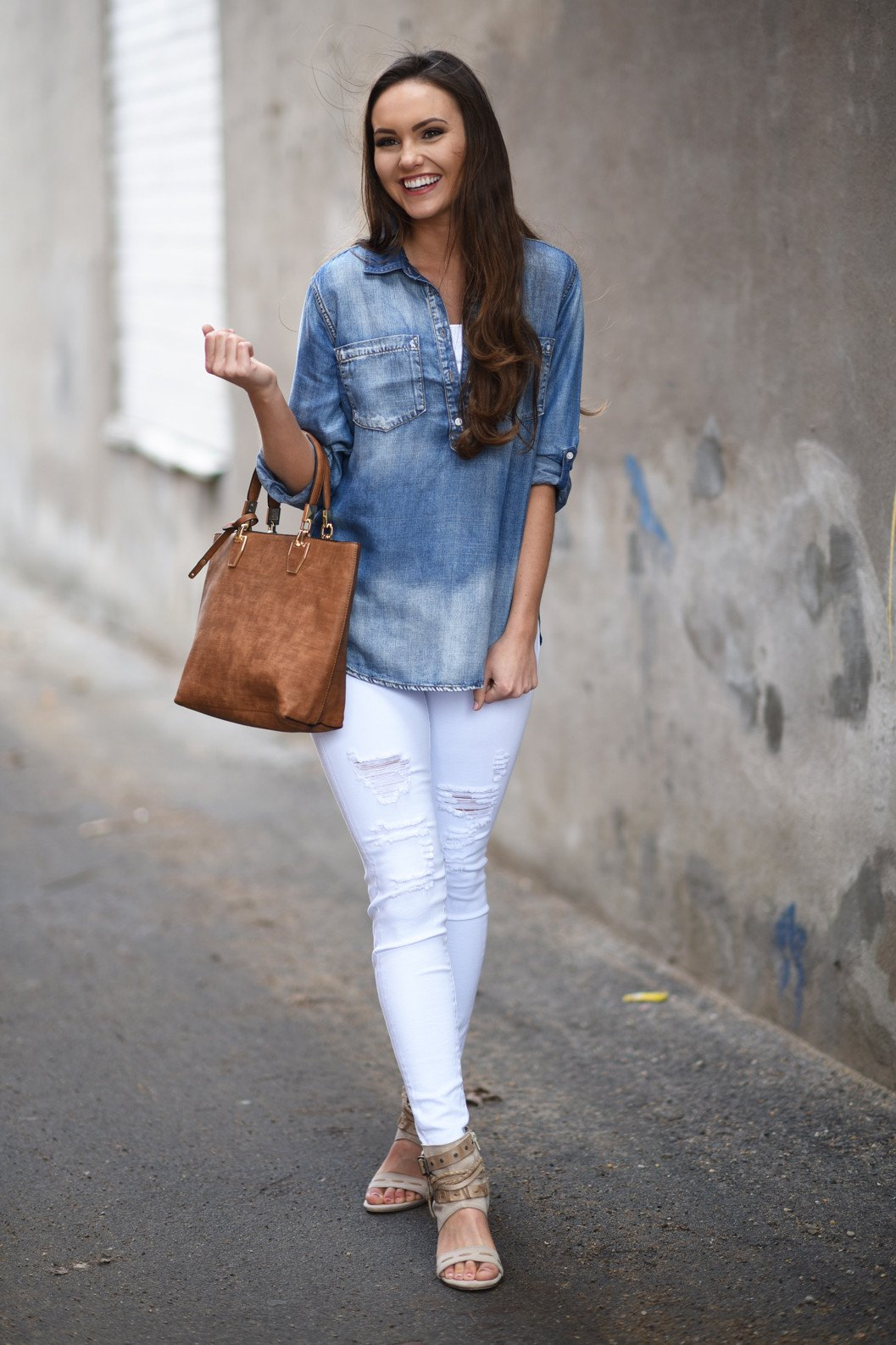 Essential Jean Top