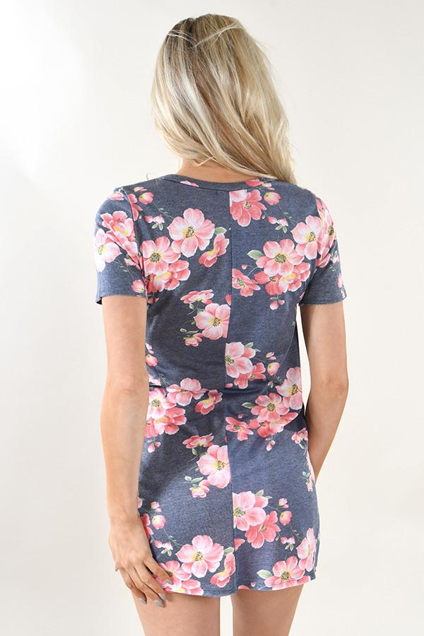 Hawaiian Fun Floral Top