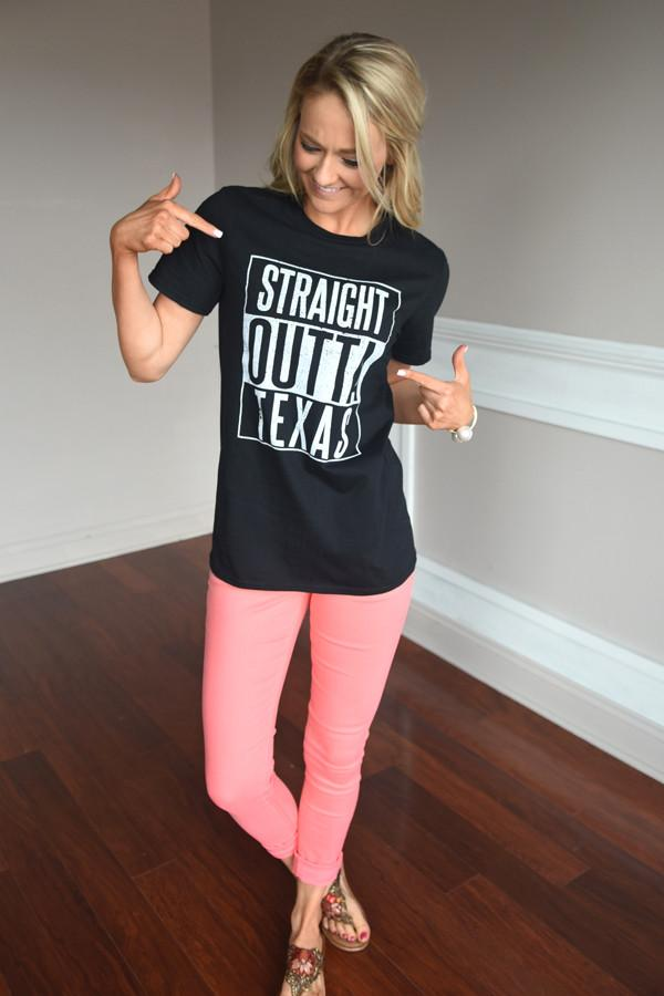 Straight Outta Texas Tee