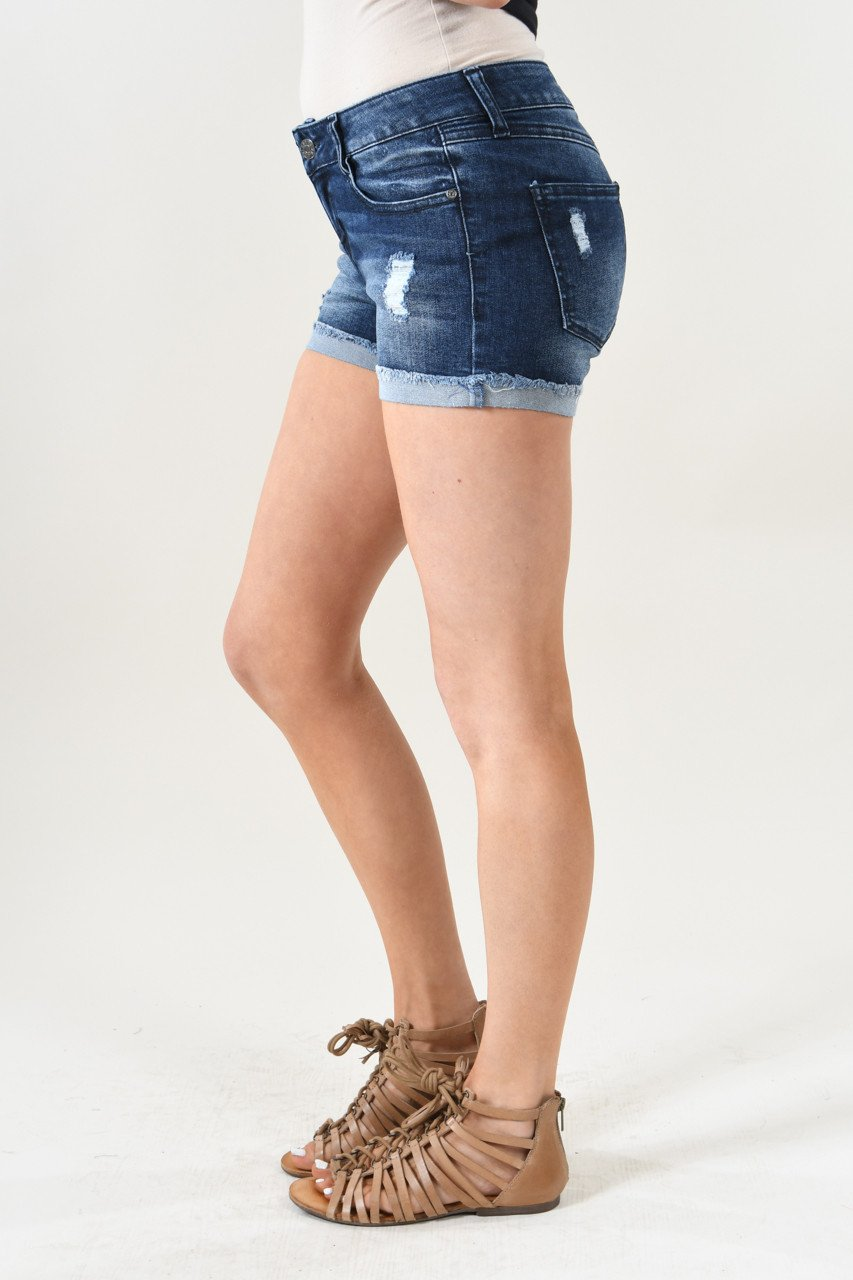 Calypso Shorts ~ Dark Denim