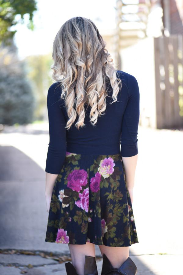 Join the Movement Floral Dress