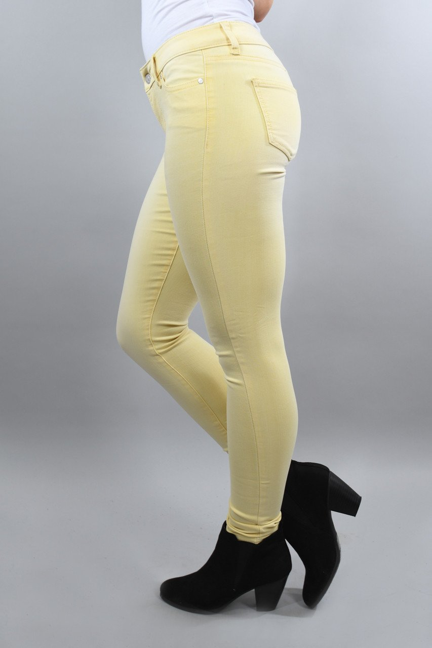 Sunshine Yellow Calypso Pants