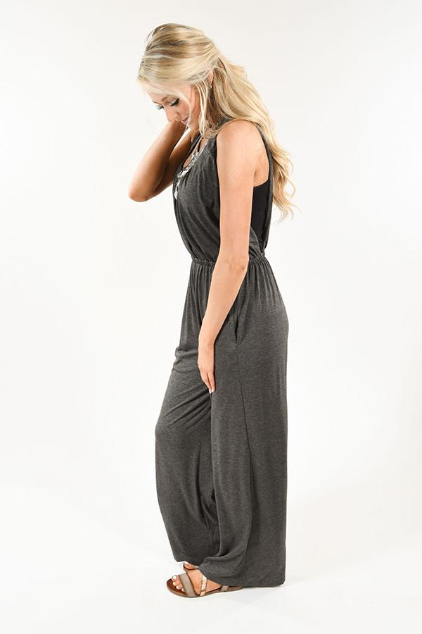 Charcoal Jumpsuit