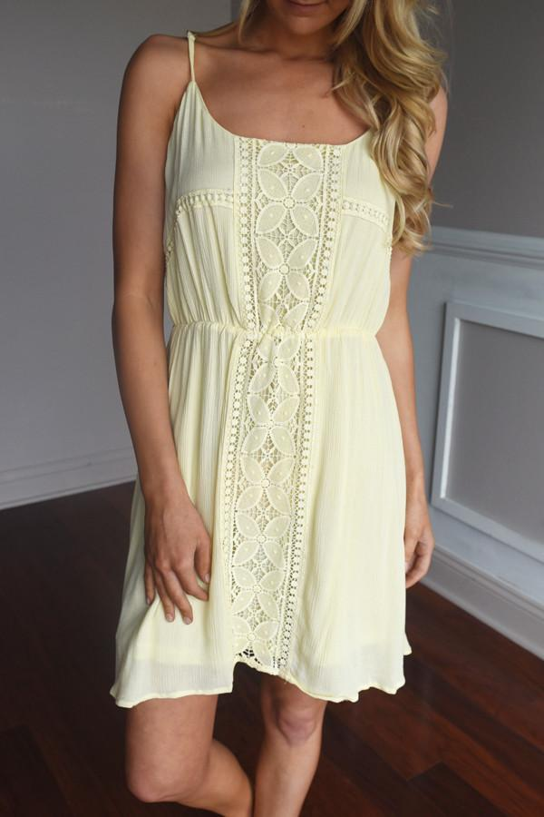 Light Yellow Sundress