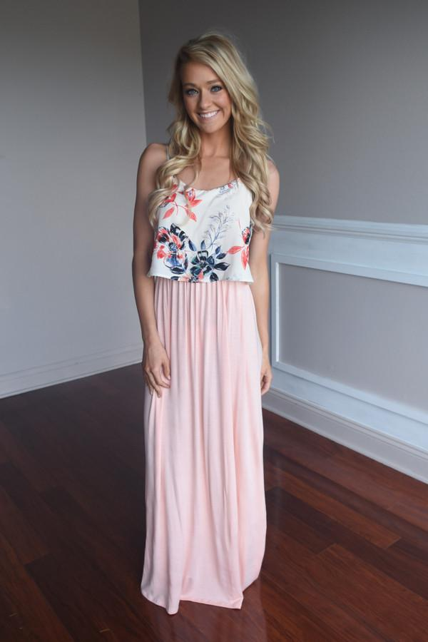 Graceful in Pink Maxi