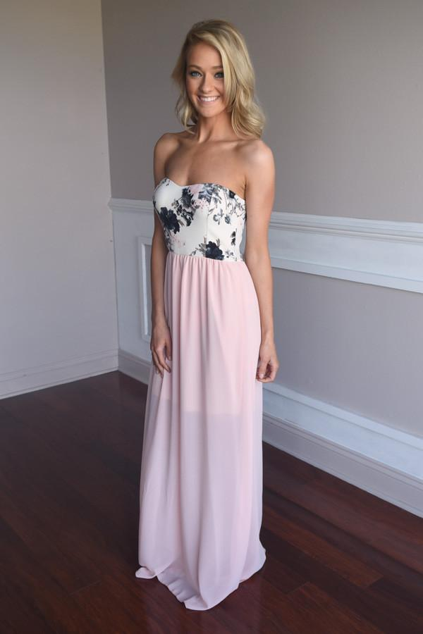 Pure Romance Maxi ~ Light Pink