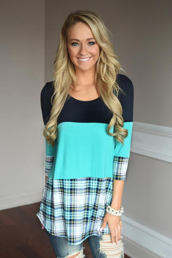Plaid to Perfection ~ Blue