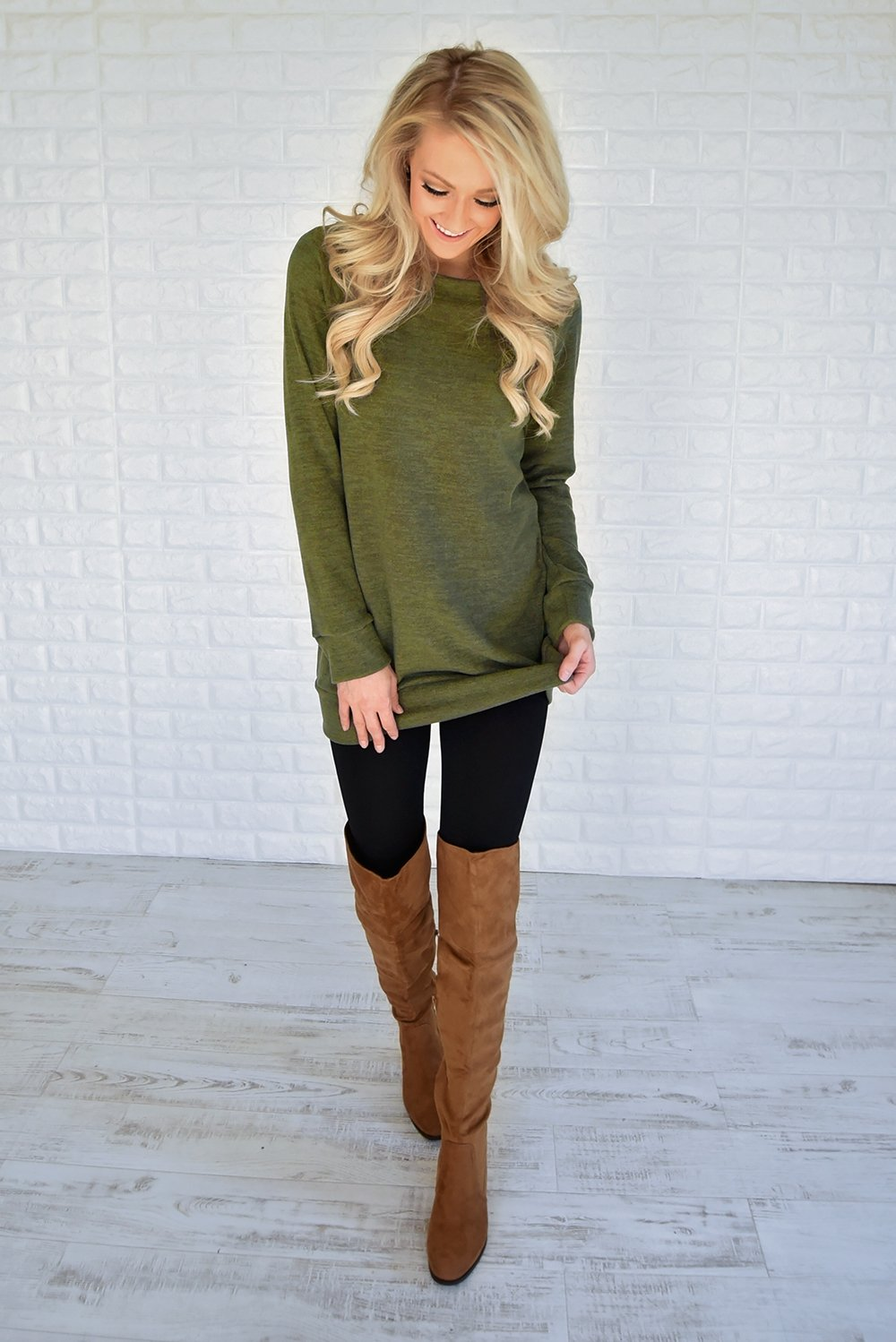 Forever Cozy Tunic Top
