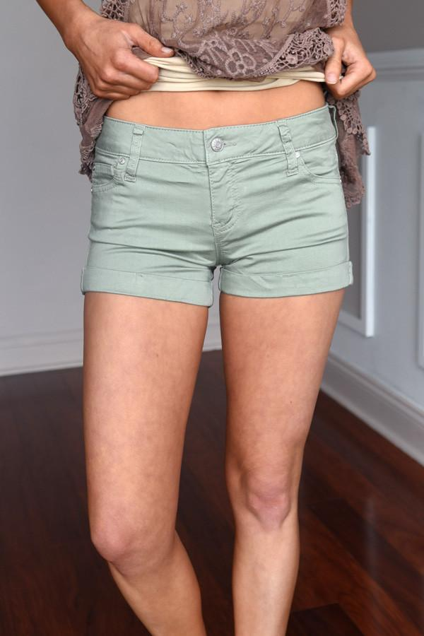Light Green Shorts
