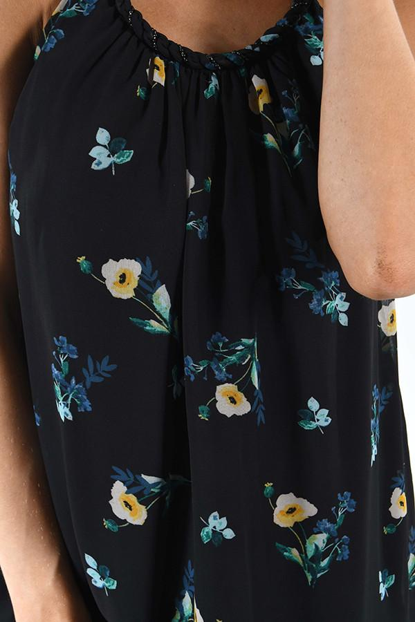 Nightingale Navy Floral Tank