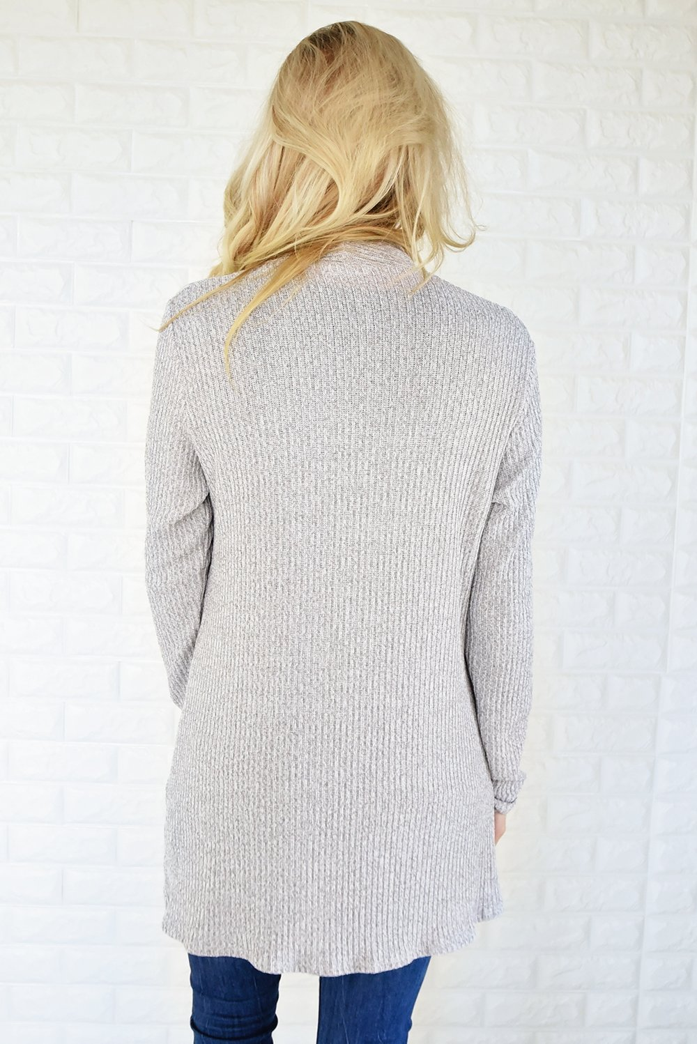 Fade to Grey Cardigan