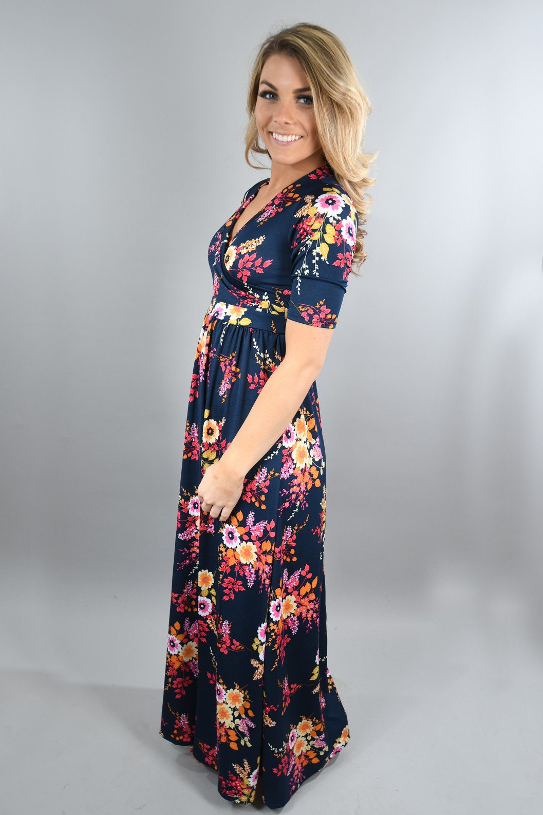 It's a Floral Time Maxi Dress