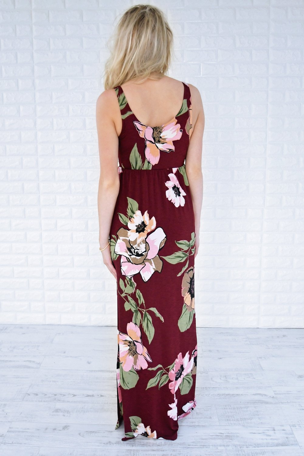 Bora Bora Babe Floral Maxi Dress