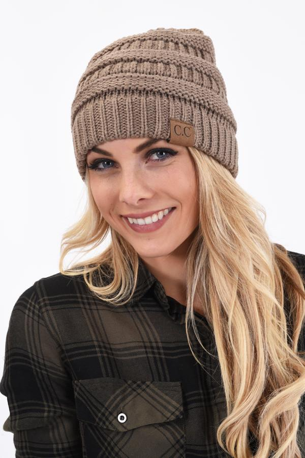 CC Beanie - Light Mocha