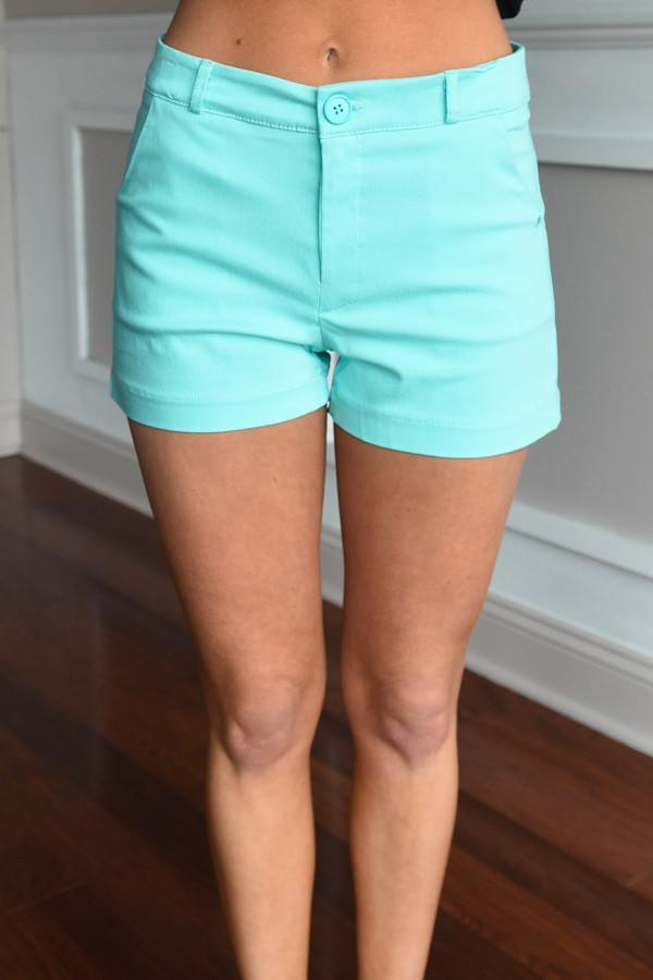 Must Have Mint Shorts