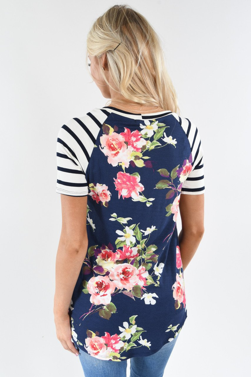 The Sunshine Top ~ Navy