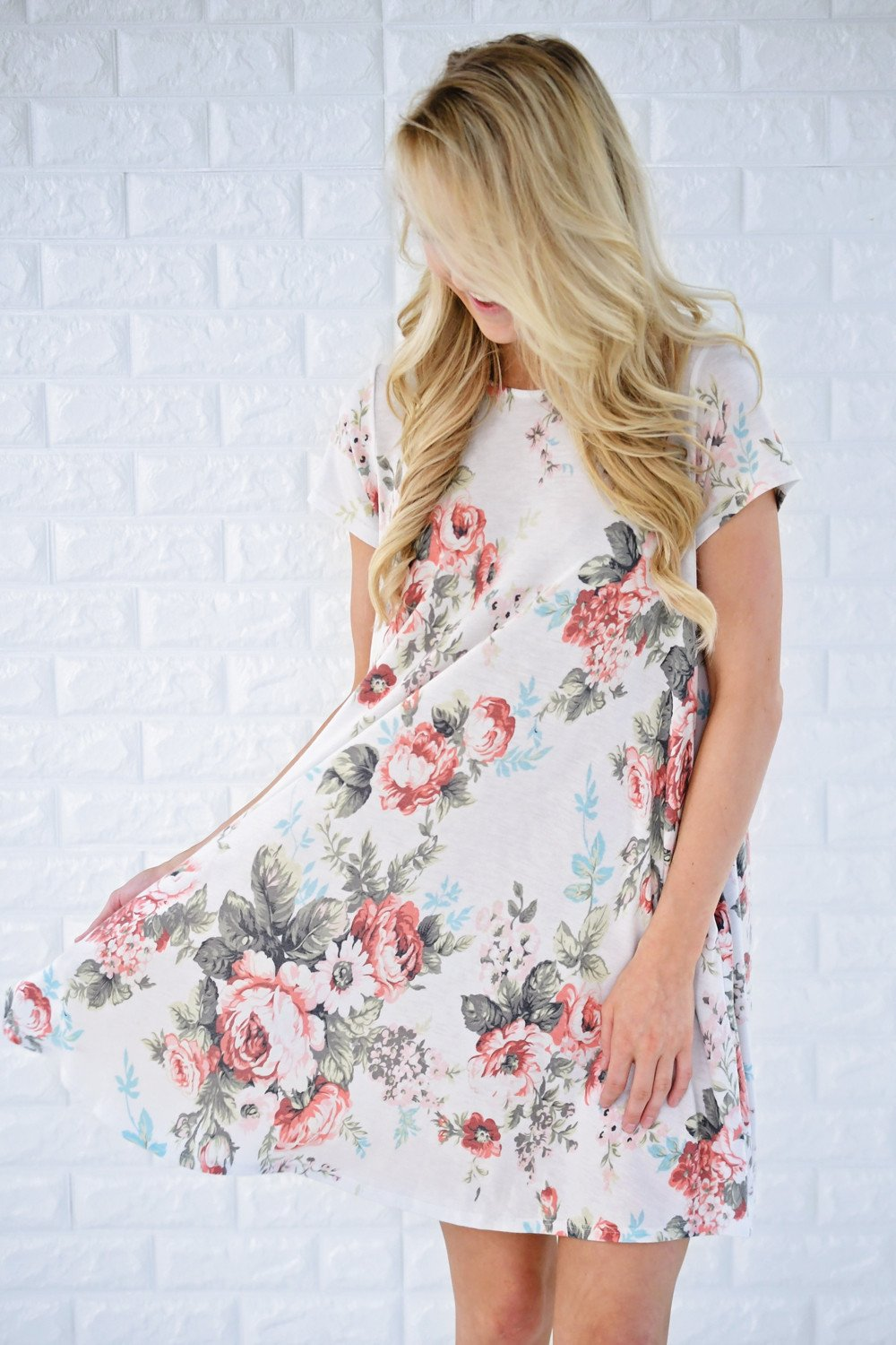 Daydreams Floral Pocket Dress