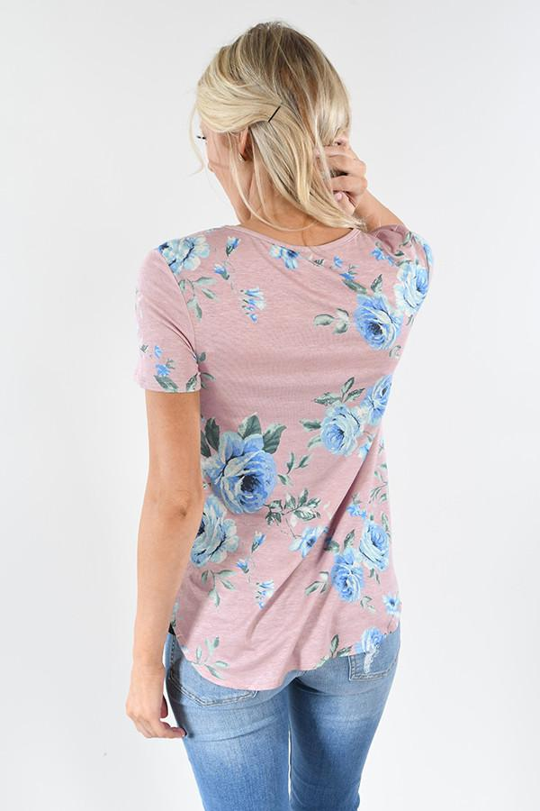Tender Heart Floral Top