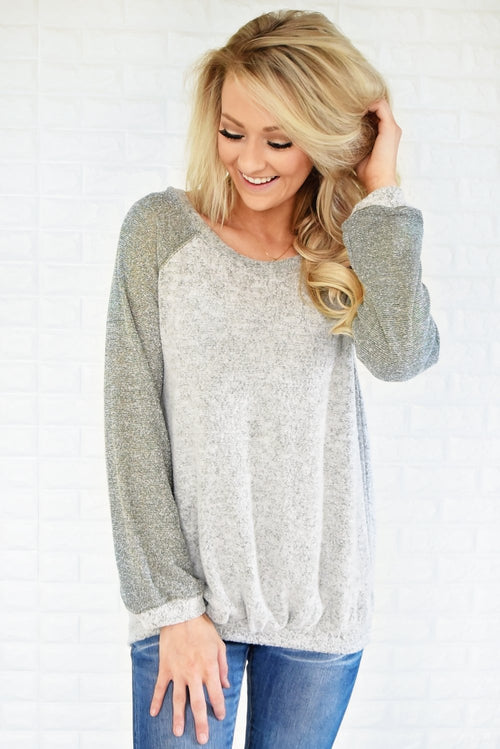 Endless Love Sweater ~ Olive