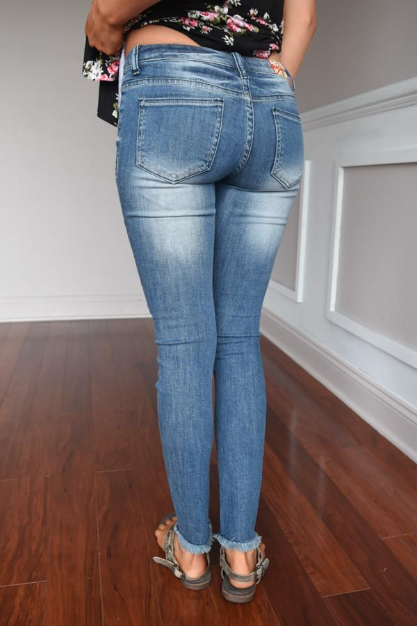 Jasmine Wash Denim Jeans