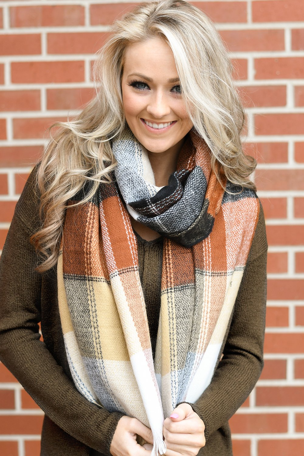 Chocolate & Caramel Table Runner Scarf