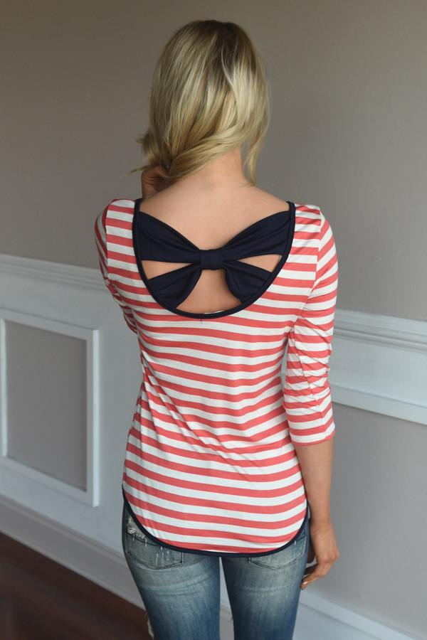 Sweet Escape Top ~ Navy