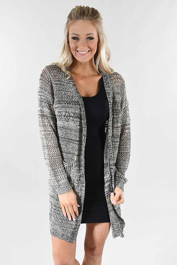 Cool Nights Cardigan ~ Cream