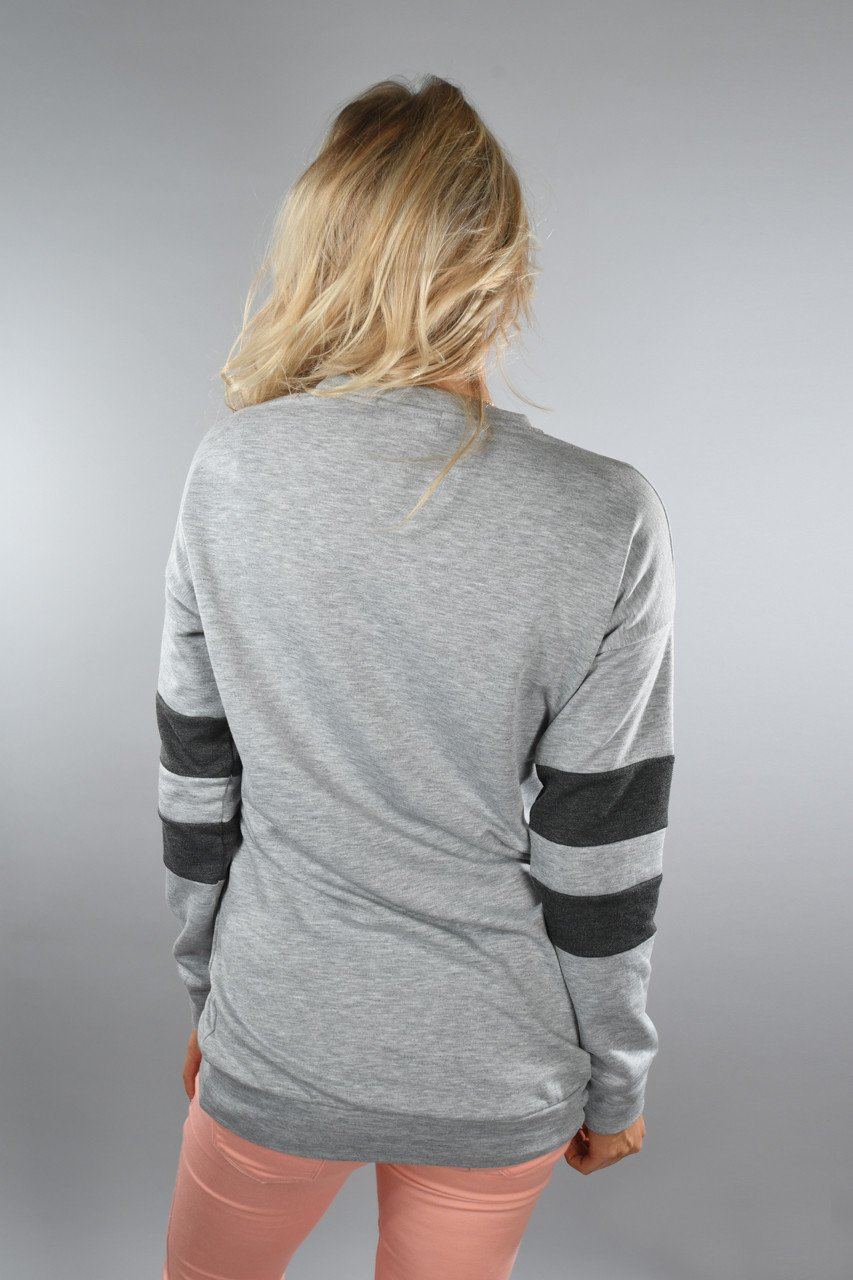 Best Sweatshirt Ever ~ Heather Grey