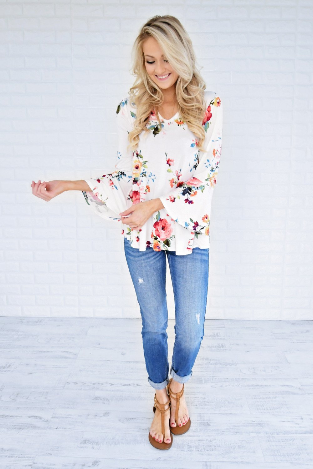 Southern Belle Floral Top