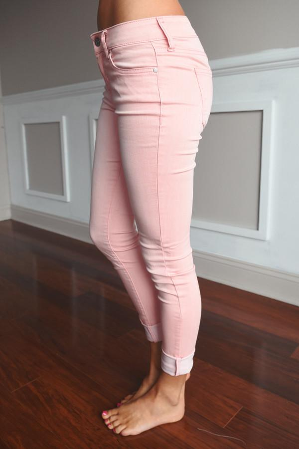 Dusty Pink Jeggings