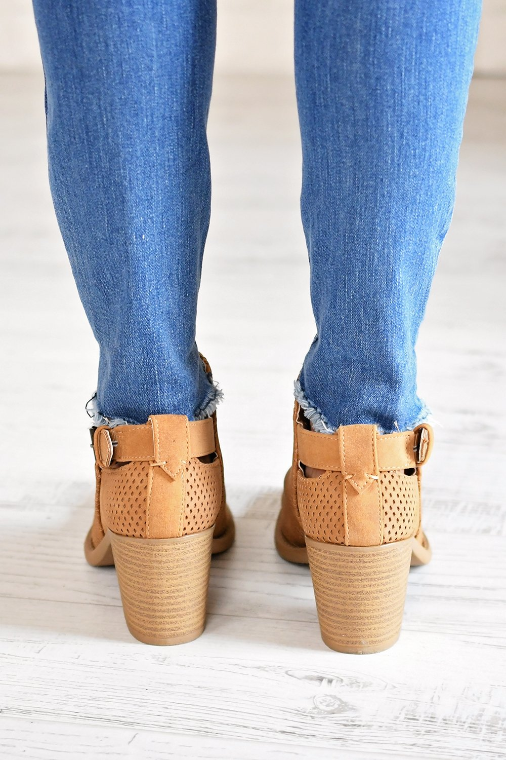 Tobin Booties ~ Tan