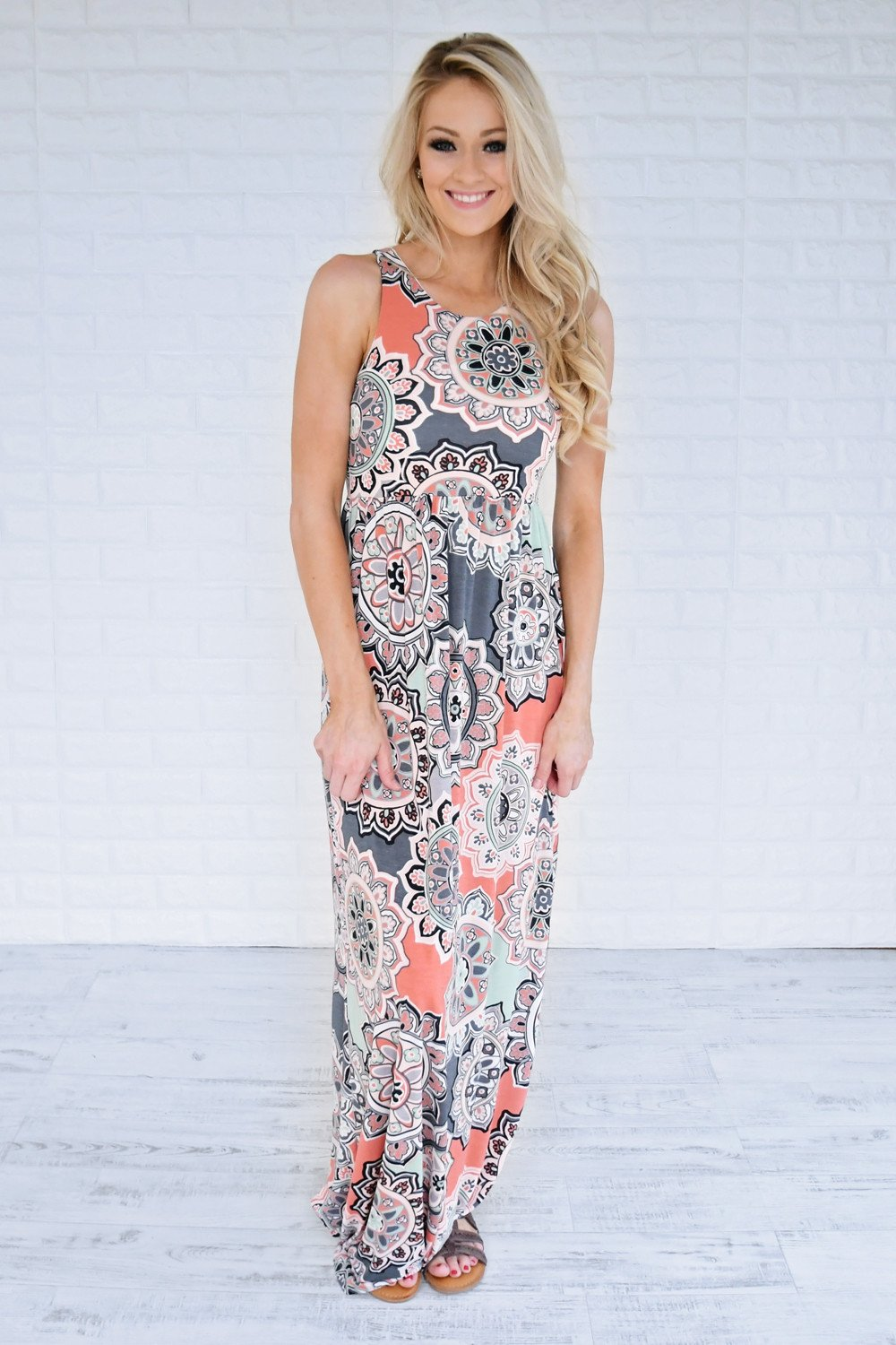 Unforgettably Yours Maxi Dress ~ Orange