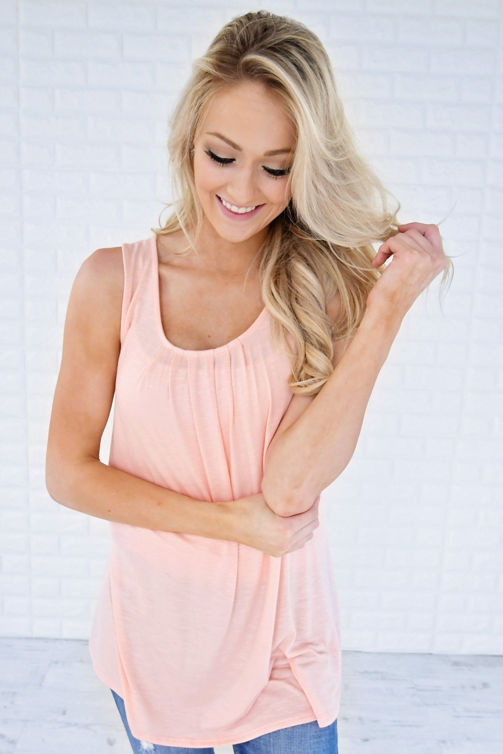 Simply Irresistible Tank Top ~ Pink