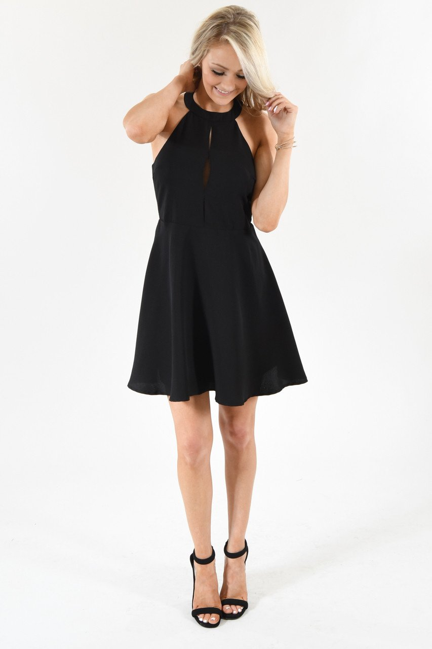 Night on the Town Black Dress