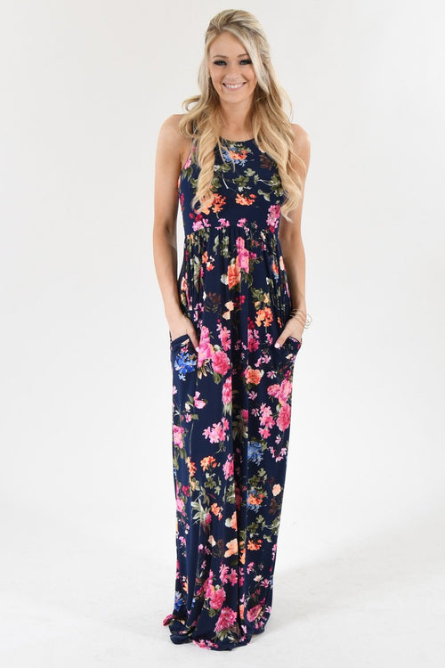 Floral State of Mind Maxi Dress
