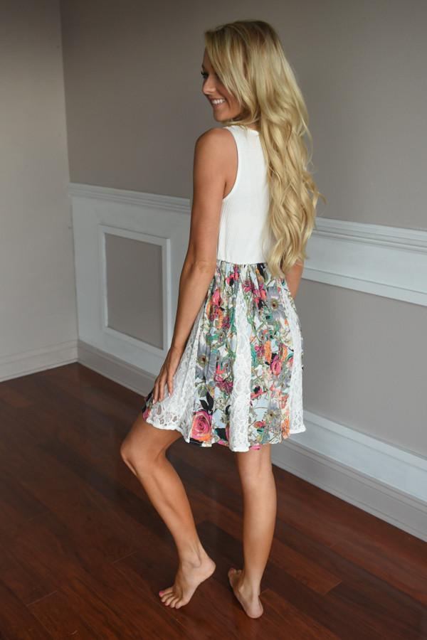 First Glance Dress ~ Ivory